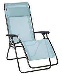 siege relax lafuma lafuma fauteuil relax position réglable structure en acier hle
