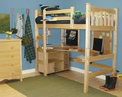 Plans For Making A Loft Bed by Loft Beds With Desks