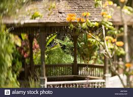 Quail Botanical Gardens Encinitas California Bench Quail Botanical Gardens Encinitas California Usa Stock