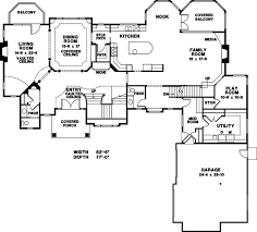 Cost To Engineer House Plans European Style House Plan 8 Beds 3 Baths 7620 Sq Ft Plan 966 81