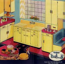 1930s Kitchen Sink Classic Colors For A 1940s Kitchen Ming Green Ivoire De Medici