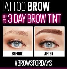 tattoo eyebrows by maybelline next level brow s with maybelline tattoo eyebrows