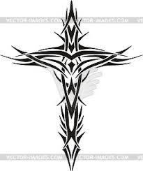 Best Cross - best tribal cross clipart