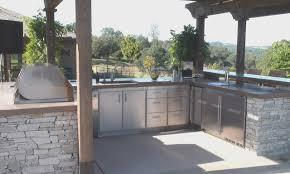 outdoor kitchen cabinets kitchen new stainless steel outdoor kitchen cabinets home design