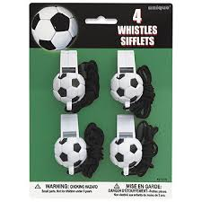 soccer party supplies bulk soccer party supplies soccer whistles 48cs