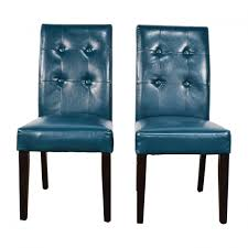 beautiful teal dining chairs set of ten modern milo baughman style