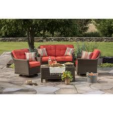 5 piece patio table and chairs berkley jensen antigua 4 piece wicker patio set outdoor living