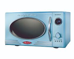 microwave for camper trailer vintage look by