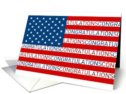 citizenship congratulations card congratulations on becoming a commissioned officer card pins of