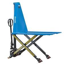 eoslift 2200 lbs scissor lift pallet truck with 27 in x 45 in