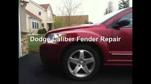 dodge caliber fender repair www doordingfix com 717 473 7376