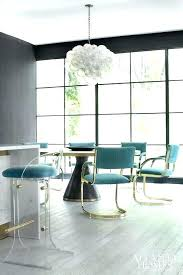 lucite dining room chairs modern eclectic regency dining room with