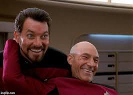 Meme Generator Picard - picard riker laughing blank template imgflip