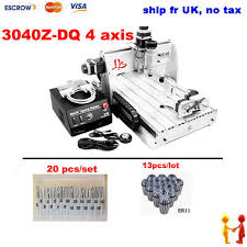 Wood Cnc Machine Uk by Aliexpress Com Buy No Tax To Eu Cnc 6040 Z S80 4 Axis Cnc Router