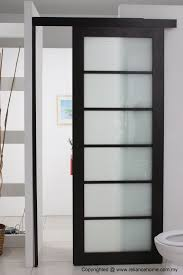 sliding kitchen doors interior looking frosted sliding single bathroom doors for minimalist