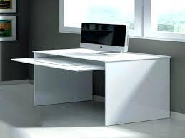 Mini Computer Desk Black Wood Corner Computer Desk Small Painted L Shape And Metal