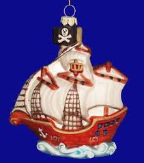 jolly roger pirate ornament pirate ornaments
