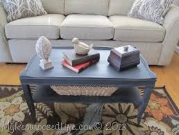 Painted Coffee Table Two Tiered Coffee Table Makeover My Repurposed