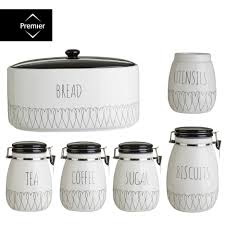rustic kitchen canister sets pottery canister sets farmhouse kitchen canisters white canister