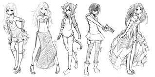 r at mini full body sketches by whitty boo on deviantart
