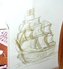pirate ship sketch by sporklol on deviantart