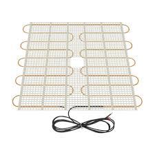 Radiant Floor Heating Under Laminate 3 Ft 3 In X 20 In 110 Volt Radiant Floor Heating Film Rsg 20 33