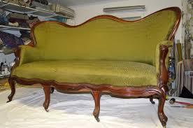 refection canapé restauration du canapé napoléon iii un résultat étonnant