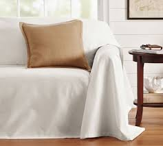 Pottery Barn Sofa Covers by Dropcloth Loose Fit Slipcover Twill Pottery Barn