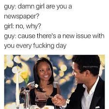 Damn Girl Meme - dopl3r com memes guy damn girl are you a newspaper girl no