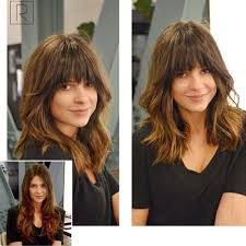lob hairstyles with bangs 60 most beneficial haircuts for thick hair of any length