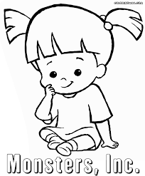 monsters inc coloring pages boo boo monsters inc coloring pages newyork rp com