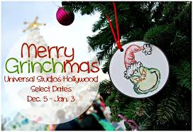 Universal Studios Christmas Ornaments - a grinchmas who liday celebration at universal studios hollywood