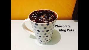 2 minutes microwave eggless chocolate mug cake recipe easy