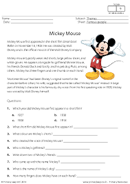 mouse reading comprehension