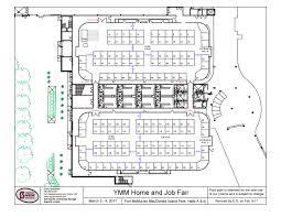 wood buffalo economic development ymm home and job fair floor map mar 2017 page 1