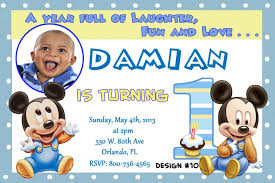 template free printable how to make a 1st birthday invitation