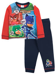 boys pj masks pyjamas superhero pjs length 2 piece