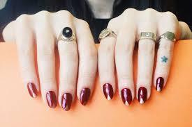 35 gorgeous metallic nail polish designs nail design ideaz