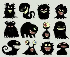 pictures of halloween monsters different halloween monsters u2014 stock vector a petruk 70293783