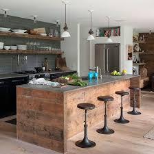 photo de cuisine ouverte idée de cuisine ouverte argileo
