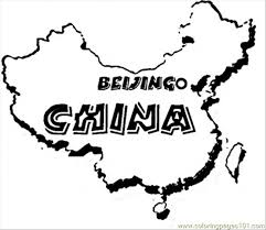 map of china coloring page free china coloring pages