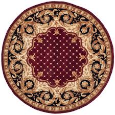 Red Oval Rug Rug Na701a Naples Area Rugs By Safavieh