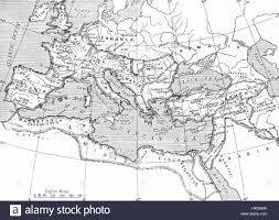 Map Of The Roman Empire Map Of The Roman Empire 14 Ad 117 Ad From Hutchinson U0027s History