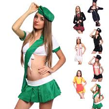 schoolgirl halloween costume uniform costume army cop nurse firefighter