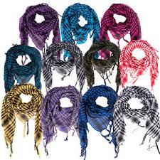 arab wrap 100 cotton shemagh headscarf desert colour option