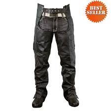 riding jacket for men leather chaps zip out insulated and lined plain biker motorcycle