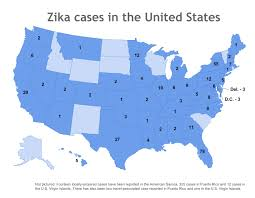 Map Of Puerto Rico And Us by Where In The Us Have Zika Cases Been Reported April 8 Update