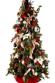 199 best christmas trees traditional red images on pinterest