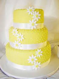 wedding by designs yellow wedding cakes design