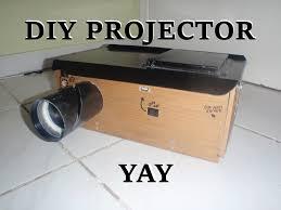 diy homemade multimedia projector youtube